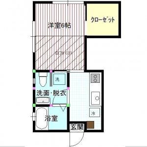 sugiyama-apart201-madori